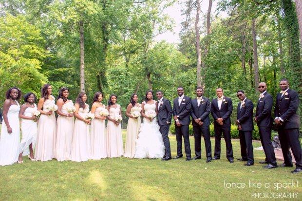 Native and Posh Weddings Bridal Party