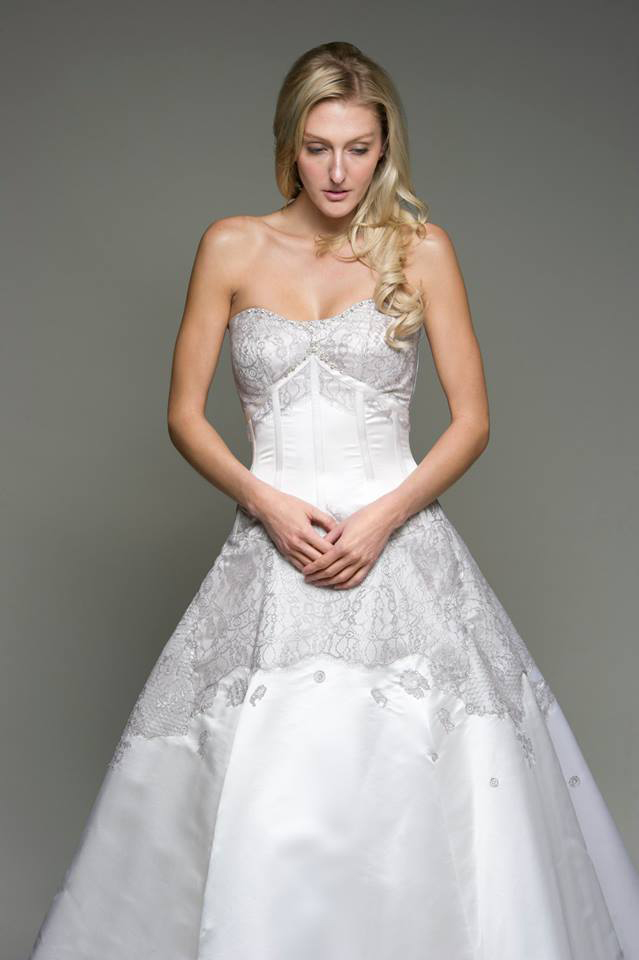 Corset Wedding Dress - Avail and Company - Ozzie Ramsay Photography, Native and Posh Weddings