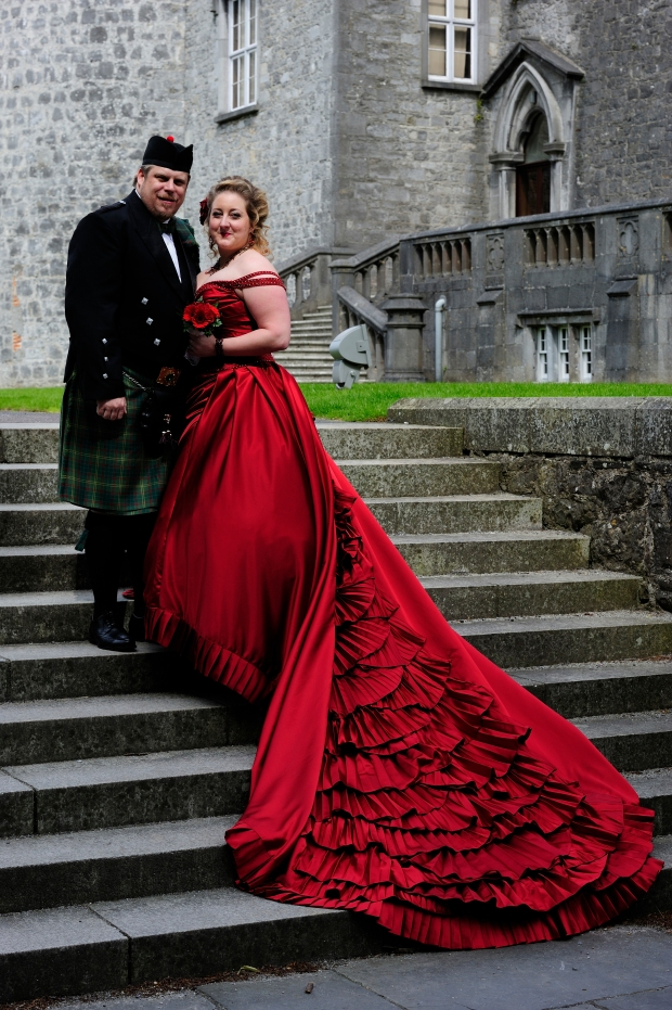 Red Wedding Dress - Avail and Company, Native and Posh Weddings