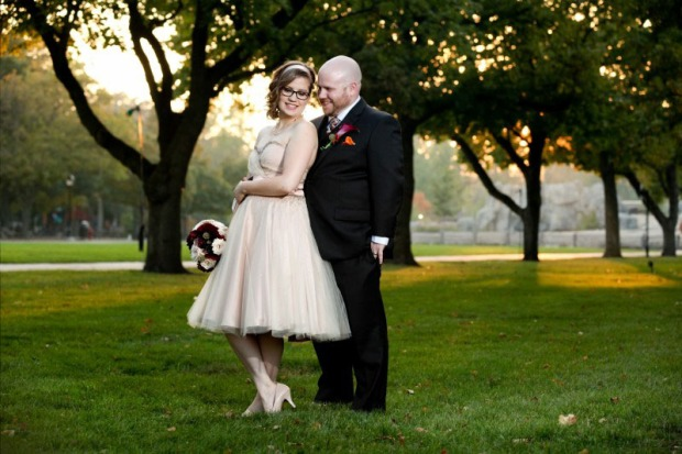 Short Wedding Dress - Avail and Company, , Native and Posh Weddings