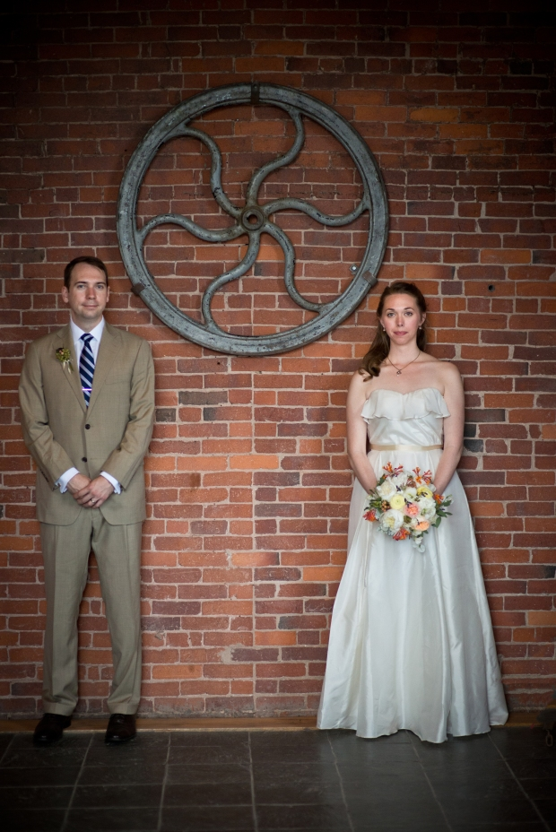 Simple Wedding Dress - Avail and Company - Michele Stapleton Photography, Native and Posh Weddings