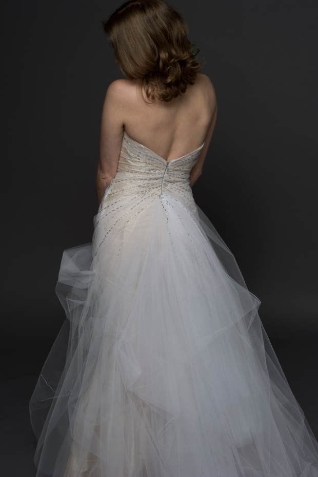 Tulle Wedding Dress 2 - Avail and Company - Ozzie Ramsay Photography, Native and Posh Weddings