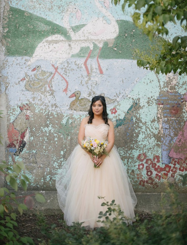Tulle Wedding Dress - Avail and Company - Weaver House, Native and Posh Weddings