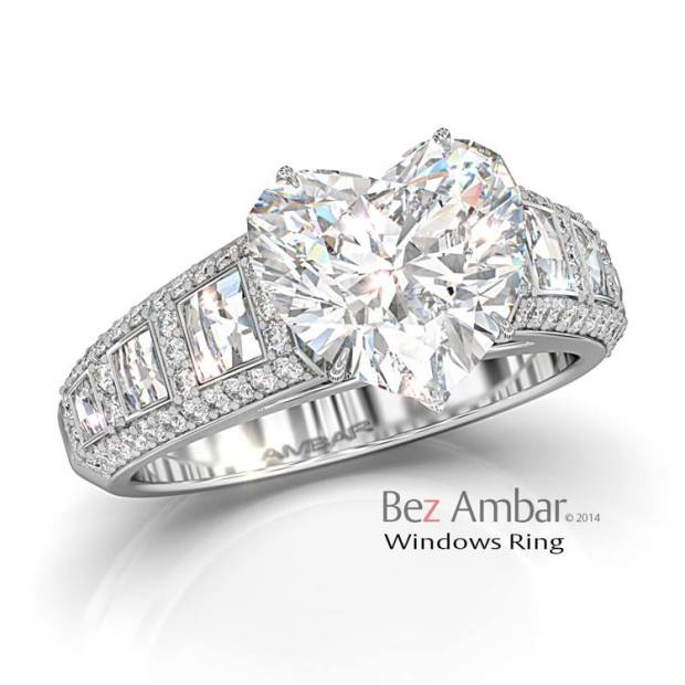 Windows-Engagement-ring-for-Heart-shape-Diamond-center