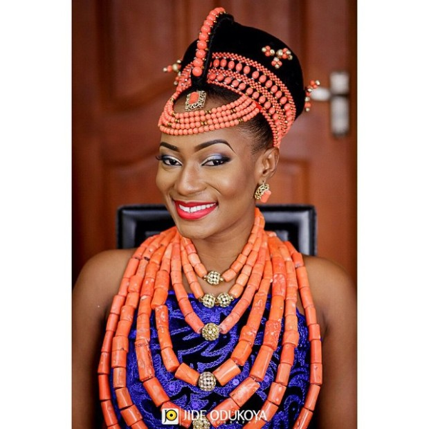 Edo Bride Okuku, Native and Posh Wedding blog